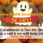 Open Enrollment for Health Insurance, Nov 1st to Dec 15th | Hettler Insurance Agency, Lubbock Texas